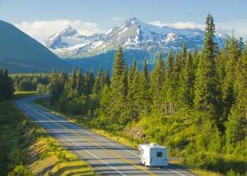 Alaska RV travel outside Anchorage