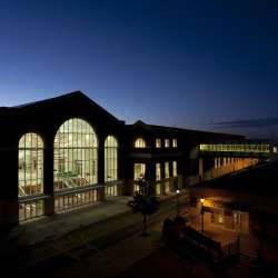 The Classic Center Atrium Exterior