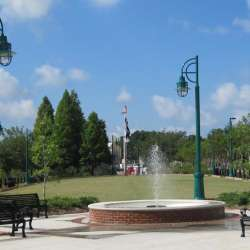 Fountain in Moss Point