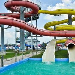 Slides at Gulf Islands Water Park