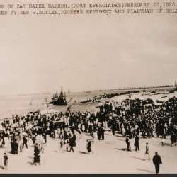 Port Everglades Dedication as Bay Mabel Harbor 1928