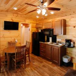 Inside Traverse City KOA
