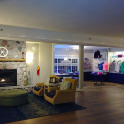 Inside the Sugar Beach Resort Hotel