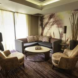 Inside the Courtyard by Marriott