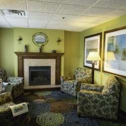 Inside the Holiday Inn Express & Suites