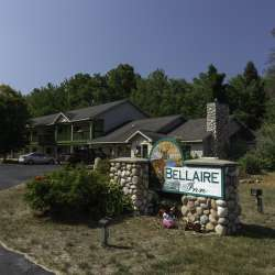 Outside the Bellaire Inn