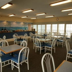 Inside the Grand Beach Resort Hotel