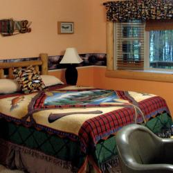 Rooms at the Lake N Pines Lodge