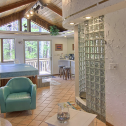 Inside the Lake N Pines Lodge