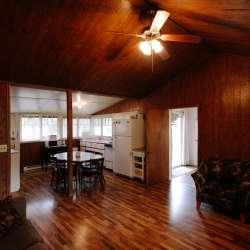 Inside the Brookside Cottages