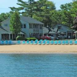 Outside the Lakeshore Resort TC