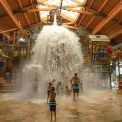 Inside the Great Wolf Lodge
