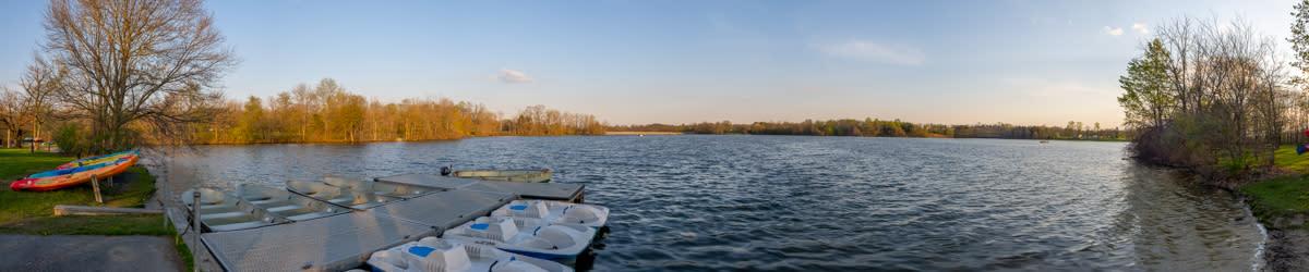 Memorial Lake Pano Adventure Trail