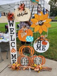Fall Welcome, Home and Other home decor signs from Blessings on Spring