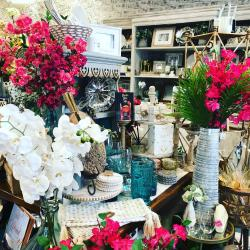 Decor Display at Pomegranate & Fig Gift Boutique
