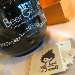 Beer Girl Growler