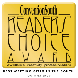 Best Meeting Sites in the South 2020 Award