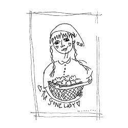 the-scone lady logo