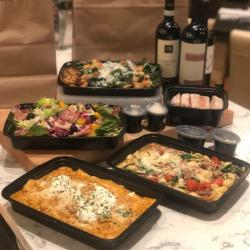 Take and bake meals from Cento in containers