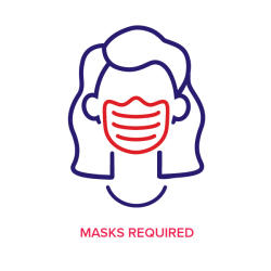 Masks Required icon