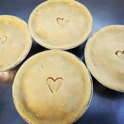 Ready-to-bake pies from Meals by Cassoulet