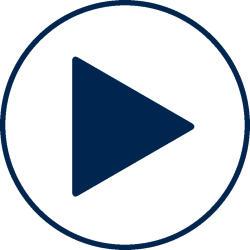Visit Orlando blue video play icon