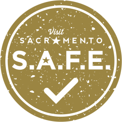 Sac S.A.F.E. Pledge Round Badge