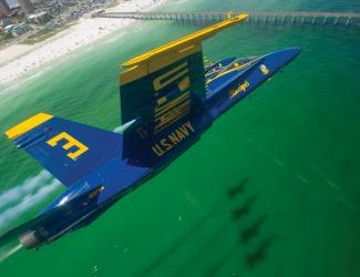 Blue Angels over Pensacola Beach