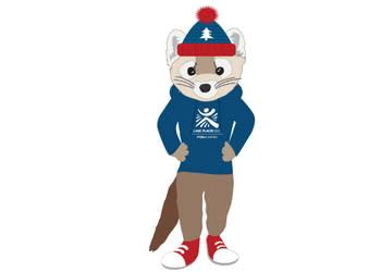Rocky Marten mascot
