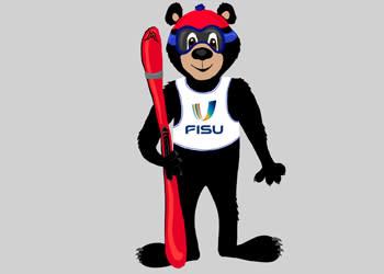Bo the Black Bear mascot