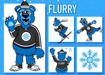 Flurry mascot