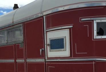 Horse Trailer at the Equestrian Park