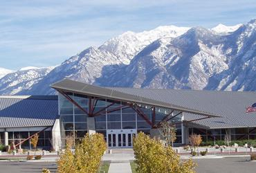 Mountain America Expo Center in the Fall
