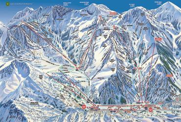 Trail Map of Alta Ski Area
