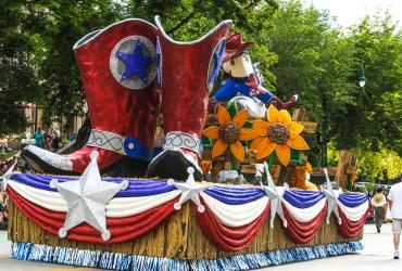 Days of '47 Parade Float