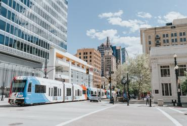 TRAX is a convenient way to get around Salt Lake