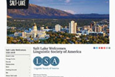 VisitSaltLake.com Convention Microsite screenshot