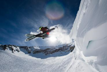 Ty Peterson Skiing Powder at Snowbird