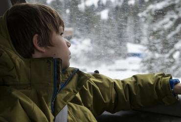Canyon Transportation - Kid Looking Out Window