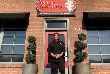 Tami Steggell at RubySnap Fresh Cookies