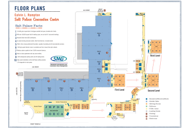 Salt Palace Convention Center Floor Plan PDF
