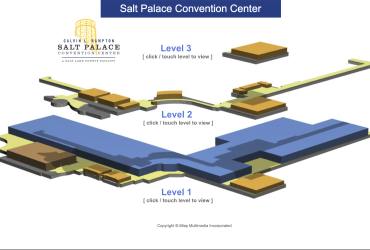 Salt Palace Convention Center Interactive Floor Plan