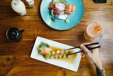 Sushi at Takashi
