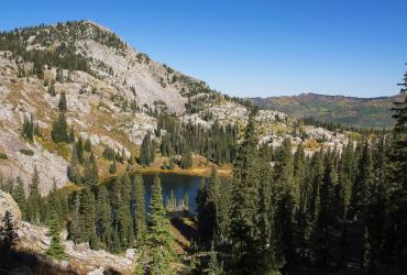 Lake Mary, Martha, and Catherine are worth the climb up Big Cottonwood Canyon