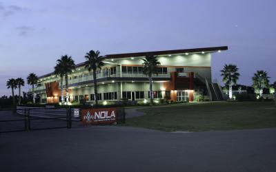 Exterior of the NOLA Motorsports Park in Jefferson Parish, LA