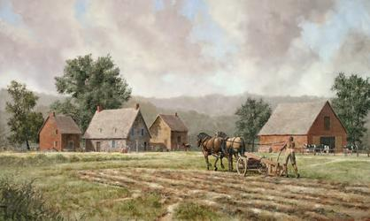 The Mabee Farm by Len Tantillo