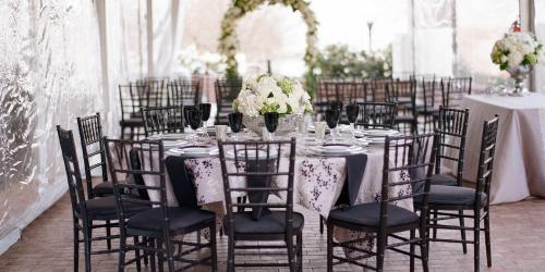 Blackwall Hitch Wedding Set Up