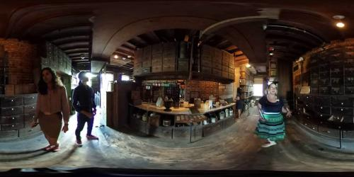 360 degree look inside an Apothecary