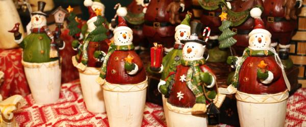 Snowmen cuties sold in a local Athens shop