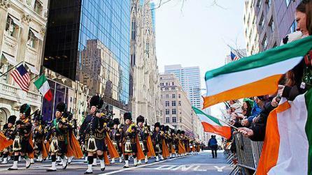 Celebrate Saint Patrick's Day in New York